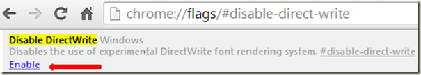 Fix for Google Chrome font Display in Italics
