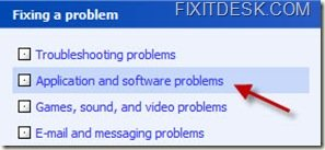 Fixing a problem in Windows XP