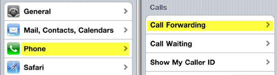 call forwarding on iphone calls going to voicemail iphones 4 5 and 6 9972